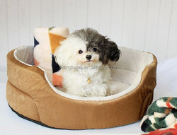 Dog Bed Puppy Sofa Cat Fleece Tent House Kennel Cushion Pillow Sleep Nest Couch