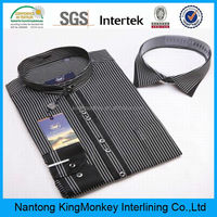 Cotton shirt collar fusible interfacing