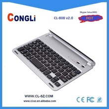 2015 Cheap Mini Aluminum Alloy Bluetooth Keyboard for IPAD Air