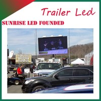 Moving Video TV Car Mobile LED Screen Truck for Outdoor Advertising, Media, Shows, Activities, etc