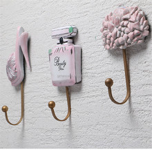 Fine workmanship Wholesale Creative Fine Resin wall hook