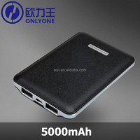 5000mah Power Bank Powerful External Mobile Charger Pack Battery for Mobiles