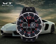 2015 Sports watch waterproof shock double show movement trend of men's watches