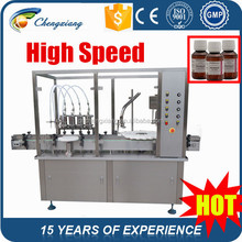 Piston Pump automatic high speed syrup filling machine,filling and sealing machine