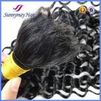 100% Vietnamese Human Hair Bulk extensionsCurly Cheap Wholesale Price Hair Bulk for Braiding