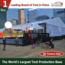 Suspended Shelter Marquee Tent with Clear ABS Solid Walls System