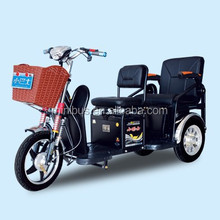 Double Seat Passengers 3 wheel Electric Mobility Scooter with sunny roof