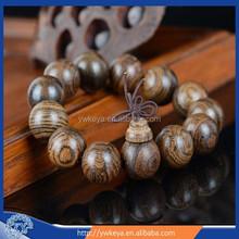 Wholesale 2015 Classic Stretch Tiger stripes agarwood Bead Bracelet with 3 sizes