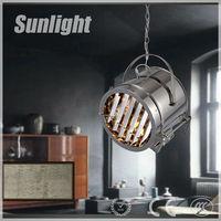 modern industrial silver spotlight style luxury workroom vintage pendant lamp/lighting