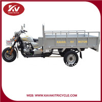 Made in China Kavaki Good Price High Speed 200cc Cargo Motorbike Tricycle