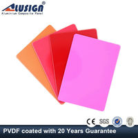 Alusign 2015 lightweight partition aluminum plastic composite panel wall panel