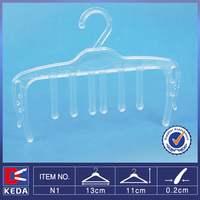 Cheap sale plastic lingerie and underwear hanger for female N1
