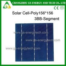 Best efficiency 6x6 inch silicon for panel using with low price for poly solar cell
