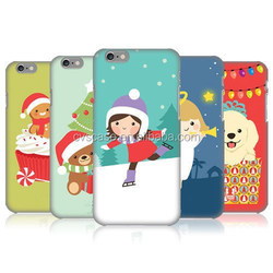 WEIHNACHTS CARTOONS For Iphone 6 Custom Cell Phone Case