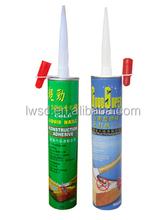 Waterproof bathroom silicone sealant rubber/high pressure glue/Bonds heaviest material