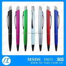 PB-113 Low Price Plastic Pen with Plastic Magnet Pencil Box Bolt Action Pen