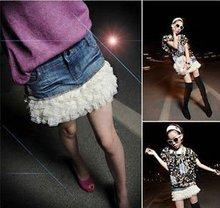 New fashion pretty mini jeans skirt
