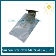 APET/CPP Anti Static Bags ESD protection packaging shielding bag/ Semi Transparent computer components storage packing