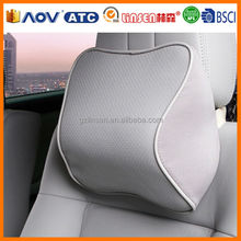 High quality Linsen in Guangzhou memory foam neck pillow filled with polystyrene beads