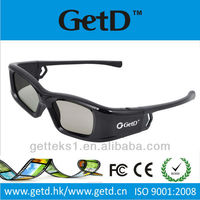Premium Sharp-compatible Active Shutter 3D Glasses for 2013 Radio Frequency (RF) 3D TVs