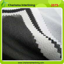 Knit Interlining PA Double dotted woven Interlining jean fabric