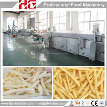 High capacity HG automatic quick frozen french fries making machine