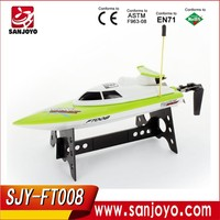2.4G 27Mhz Feilun FT008 Rc Jet Boats For Sale High Speed Remote Control Racing Boat SJY- FT008 Hobby Boat
