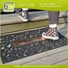 Elastic pvc coil door mat for home use