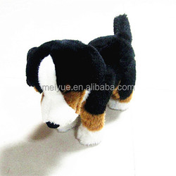 30cm Standing Real like Plush toy Bernese Mountain Dog