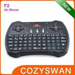 F2 Multi Function Wireless Keyboard With TouchPad
