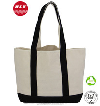 2015 Fashion Heavy Duty Eco-friendly Cheap 100% Cotton Custom Printed Canvas Tote Bag Wholesale for Promotional Shopping Bag