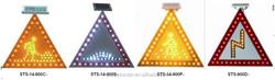 solar traffic pedestrian signs/illuminated traffic pedestrian signs/solar traffic warning pedestrian sign