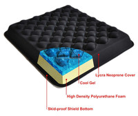 Cool Gel Seat Cushion for lower back pain relief