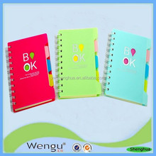 YIwu 2015 New designed hard cover plastic school note book in school&office manufacture and supplies