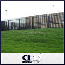 Promotion Galvanized garden/residential/factory security steel palisade fencing