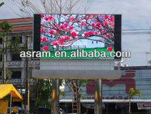 Shenzhen Asram P20 1R1G1B 1/4 Scan / Static DVI / HDMI Outdoor Double Sides LED Screens For Advertising