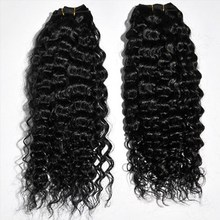 Qingdao hot sale virgin indian deep curly hai