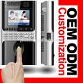 Linux-based máquina biométrica con 3.5 '' LCD y control de acceso