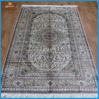 persian design 5x8 silk traditional area rugs