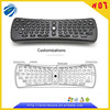 Wireless fly gaming air mouse TK618 keyboard remote control for mini PC ,laptop ,desktop etc