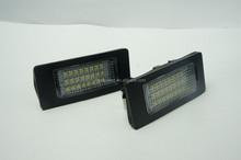 High quality LED license plate Lamp Light White Error Free Fit For BMW E90/E91/ E92/ E93
