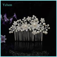 2016 Latest Designer Wedding Crystal Hair Comb/Bridal Bulk Hair Comb Accessories