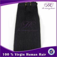 Finely processed natural asian grey hair