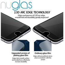 New Arrival!! Mobile Phone Use 9H 0.3mm Nuglas Tempered Glass Screen Protector for iPhone 6