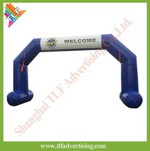 Inflatable Arch with LOGO printing air sealed or air continuous inflatable archway/arch door produce and sale