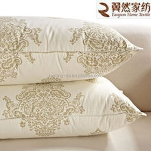 Cotton Shell Printing Goose Down Pillow