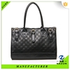 2016 new fashion design black pattern handbag for sale