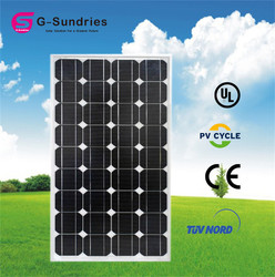 Selling well all over the world mono 160w solar panels 18v