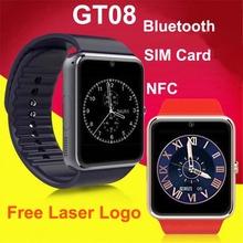 Bluetooth support sim card with NFC pandora bracelet phone watch