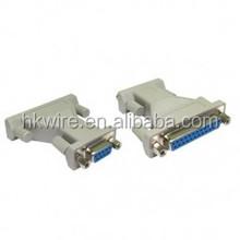 9 Pin Serial Female to 25 Pin Serial Female Adapter Converter